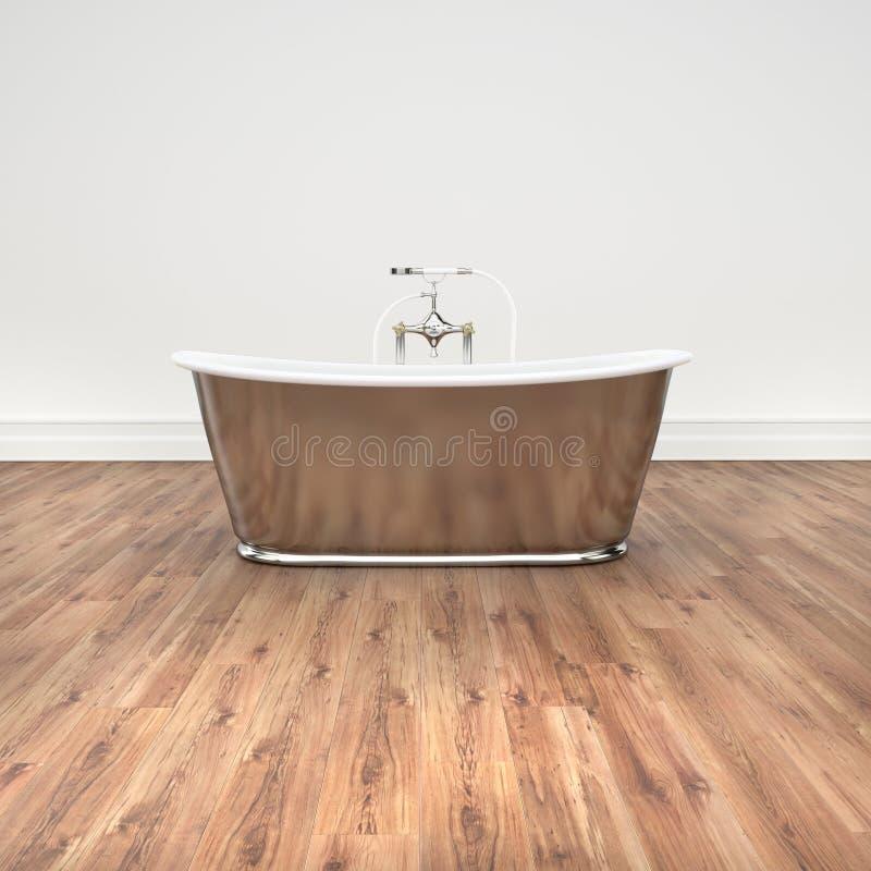 Vasca di bagno illustrazione di stock