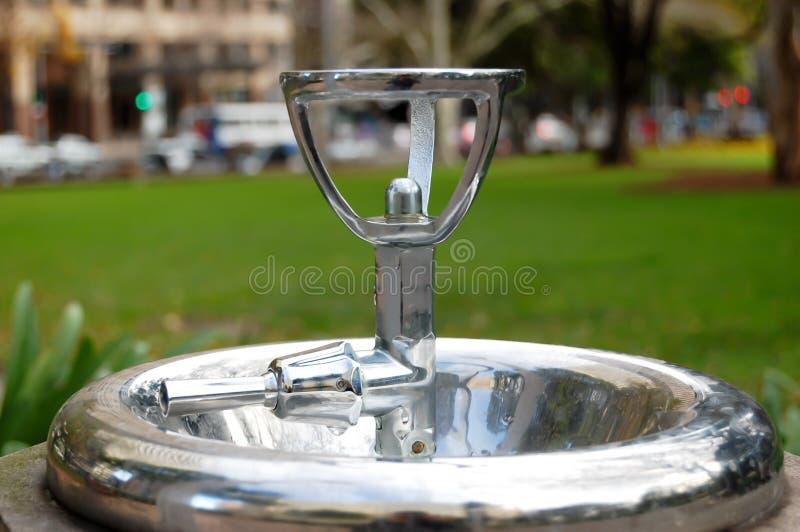 Vasca di gorgogliamento dell'acqua fotografia stock