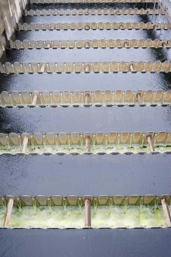 Vasca di sedimentazione fotografia stock