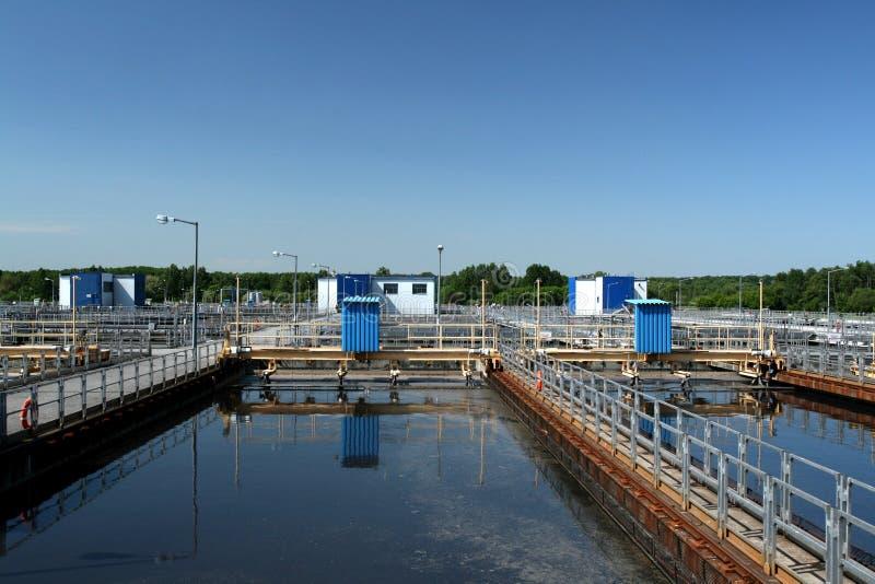 Vasca di sedimentazione fotografie stock