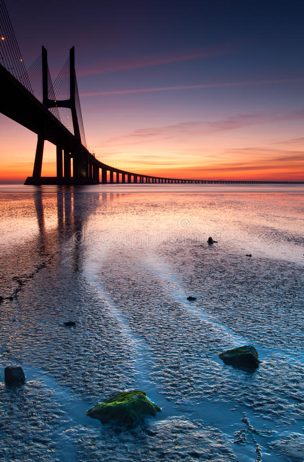 Download Vasco da Gama stock image. Image of bridge, landscape - 22328949