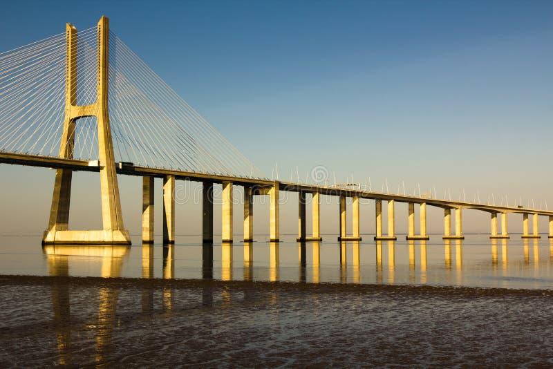 Download Vasco da Gama bridge stock image. Image of travel, bridge - 19996471