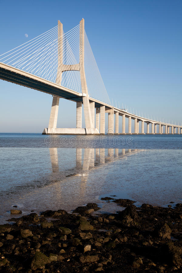 Download Vasco Da Gama Bridge Stock Photography - Image: 23010922