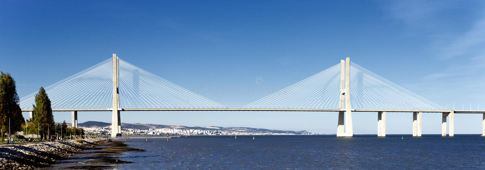 Download Vasco Da Gama Bridge In Lisbon Stock Photo - Image: 23563210