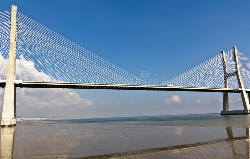 Download Vasco Da Gama Bridge In Lisbon, Portugal Stock Photo - Image: 18501610