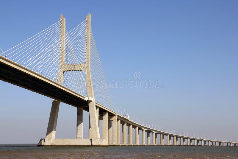 Download Vasco Da Gama Bridge In Lisbon, Portugal Stock Photo - Image of ferroconcrete, columns: 27251660