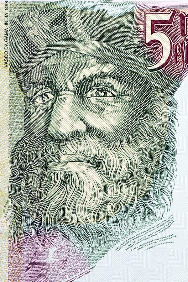 Vasco da Gama-portret royalty-vrije stock fotografie