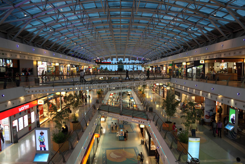 Vasco da Gama shopping center royalty free stock photography