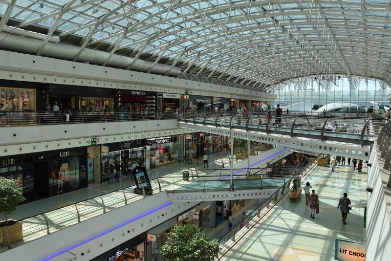 Vasco da Gama shopping center in Lisbon, Portugal. In Europe royalty free stock photo