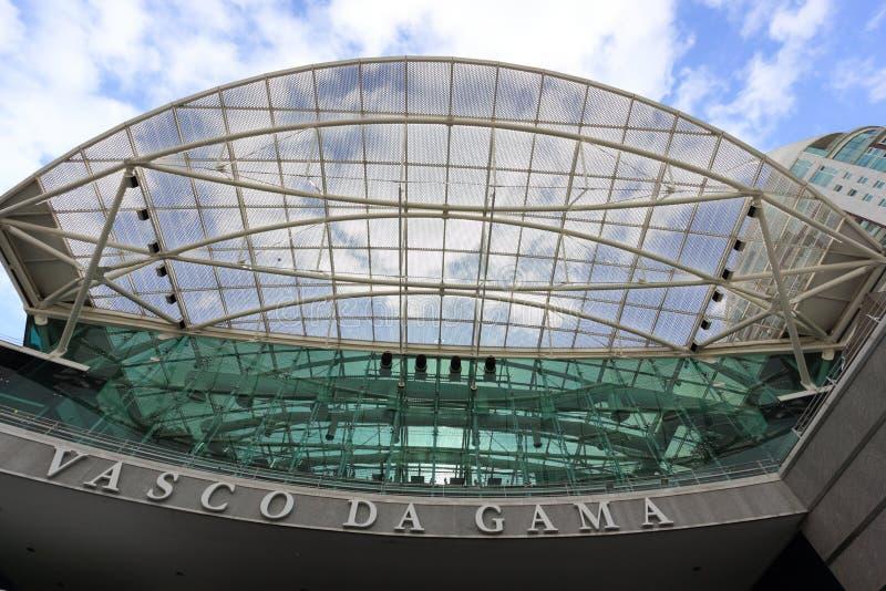 Vasco da Gama shopping center royalty free stock image
