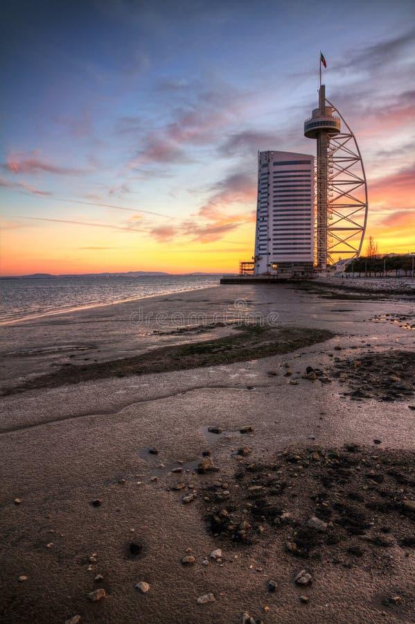 Free Vasco Da Gama Tower Stock Image - 25257021