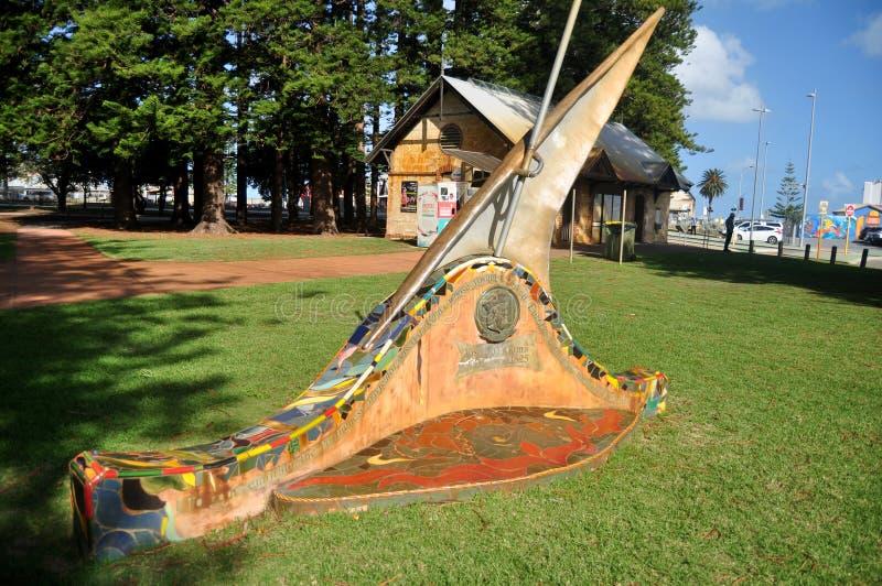 Vasco Da Gama zabytek w esplanady społeczeństwa rezerwy parku w Perth, Australia fotografia stock