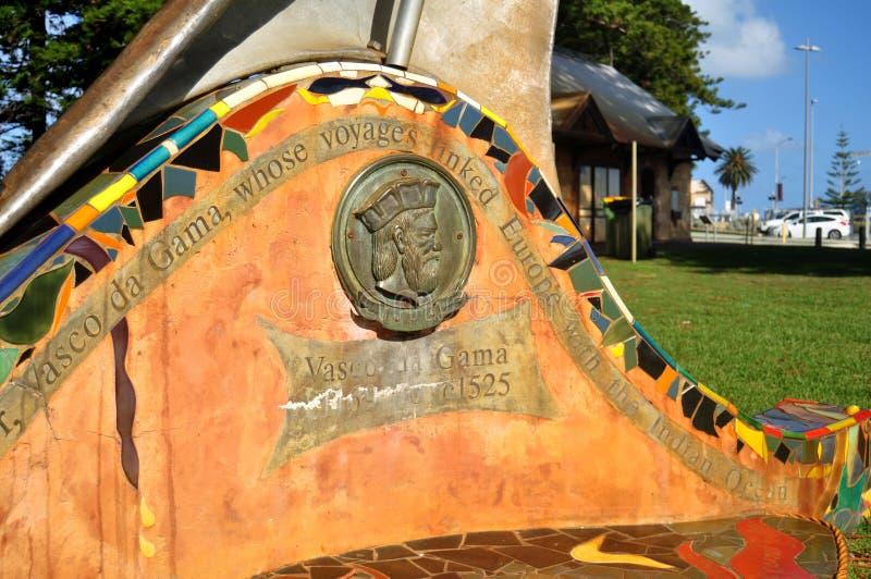 Vasco Da Gama zabytek w esplanady społeczeństwa rezerwy parku w Perth, Australia obraz stock