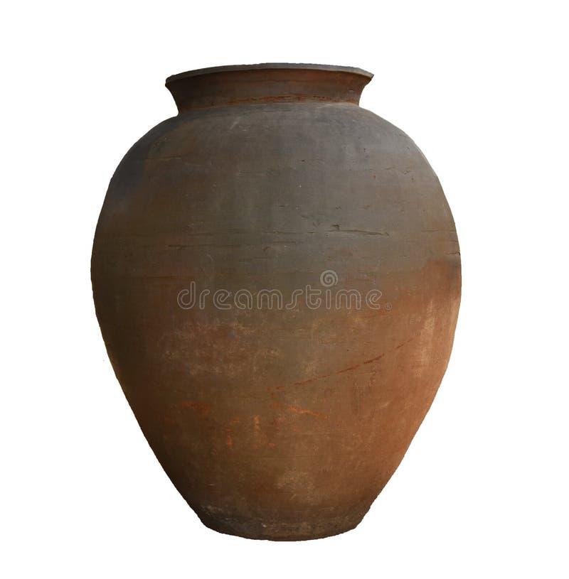 Vase à argile - grand vase images stock