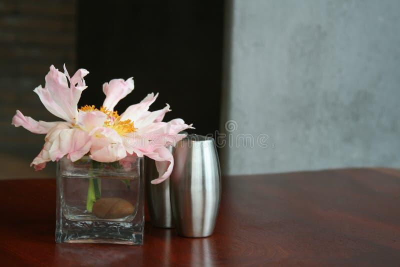 Vase à bourgeon images libres de droits