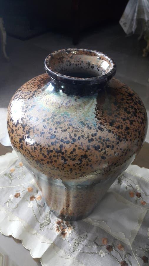 Vase à Brown photo libre de droits