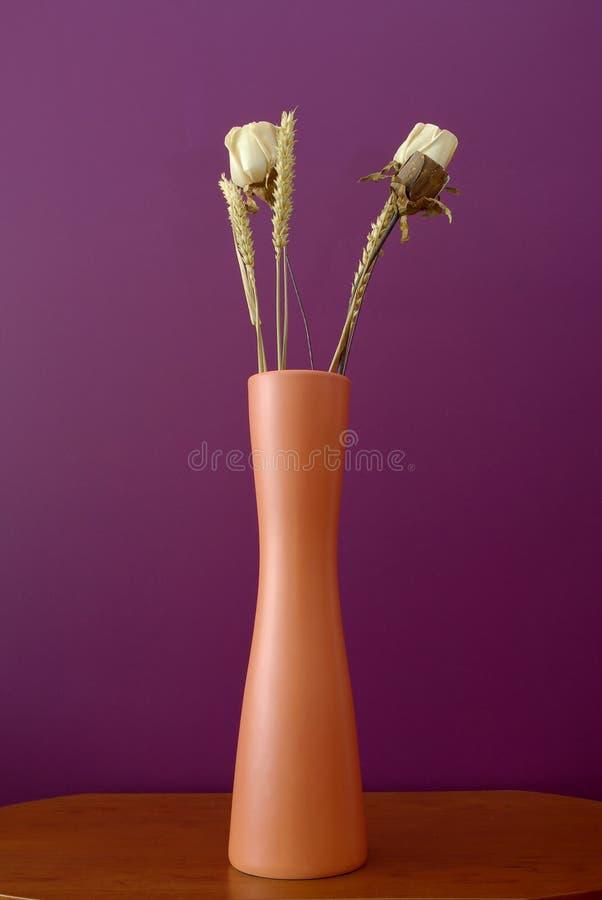 vase à fleurs sec images libres de droits