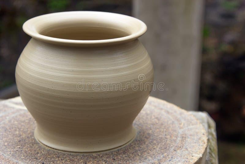 Vase à poterie photographie stock libre de droits
