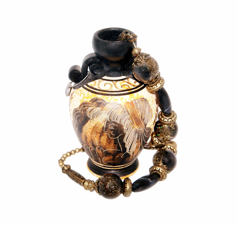 vase χαντρών στοκ φωτογραφία