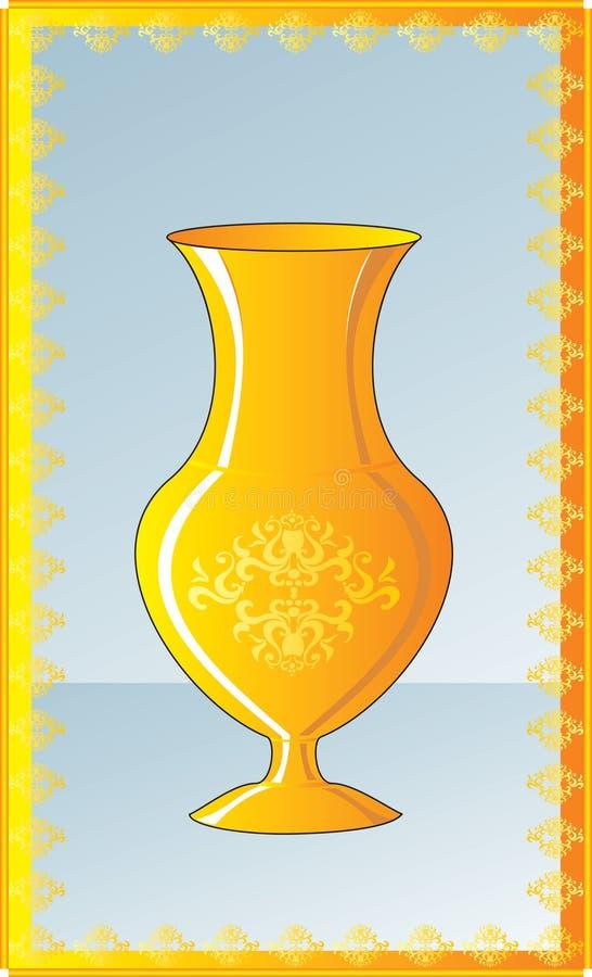 Download Vase stock vector. Image of revival, still, sketch, decoration - 15718773