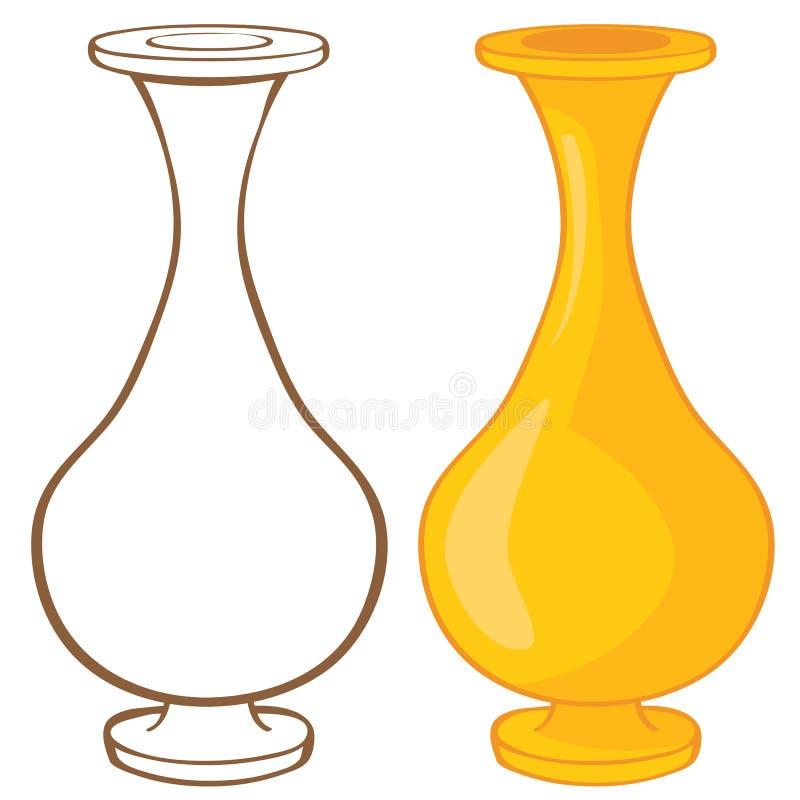 Download Vase stock vector. Image of liquid, container, water - 26545689