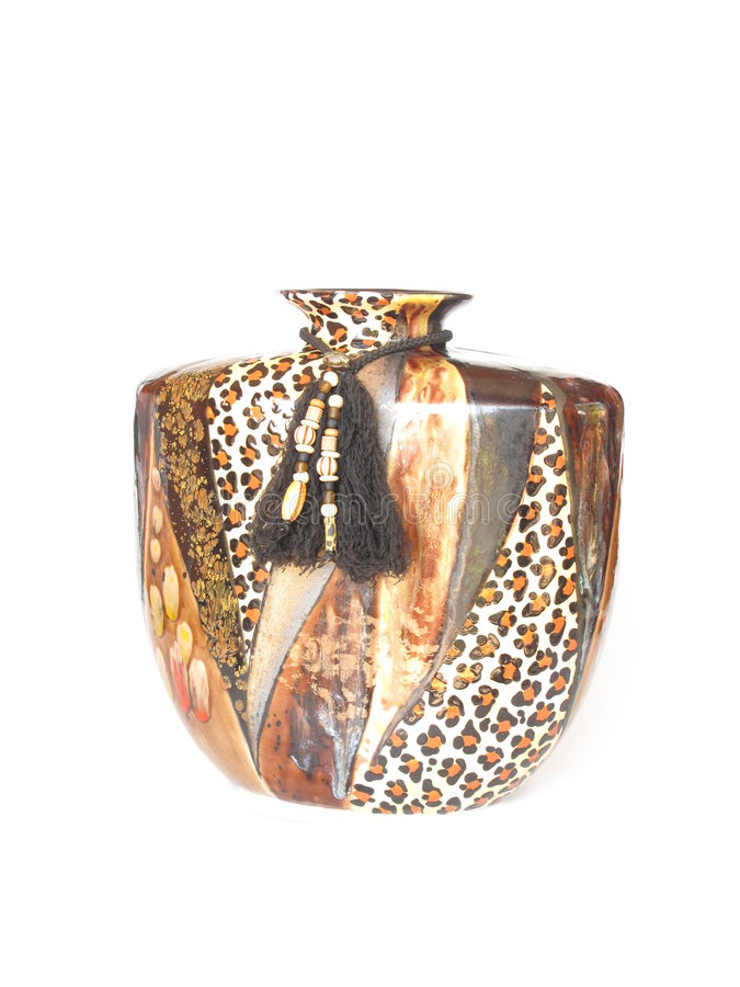 vase africain photo stock