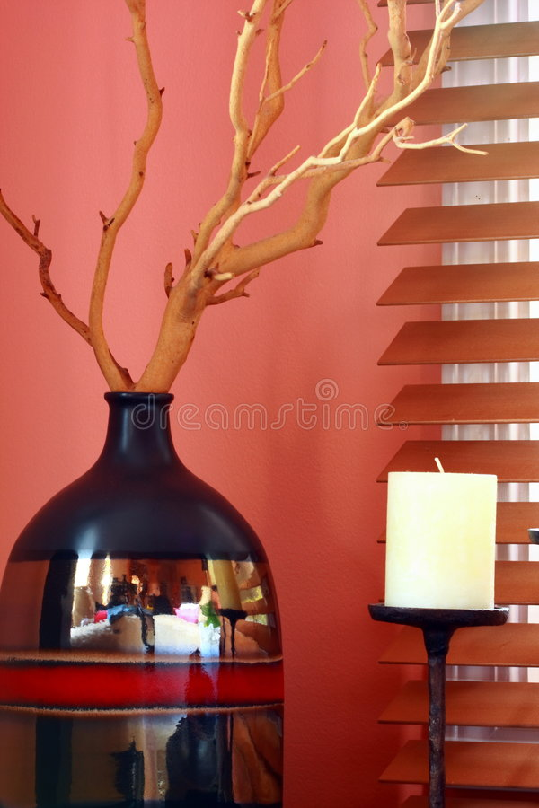 Free Vase And Candle Stock Photos - 3502383