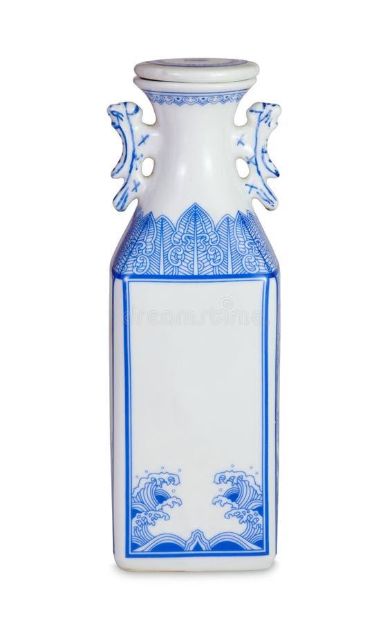 Vase antique chinois photographie stock