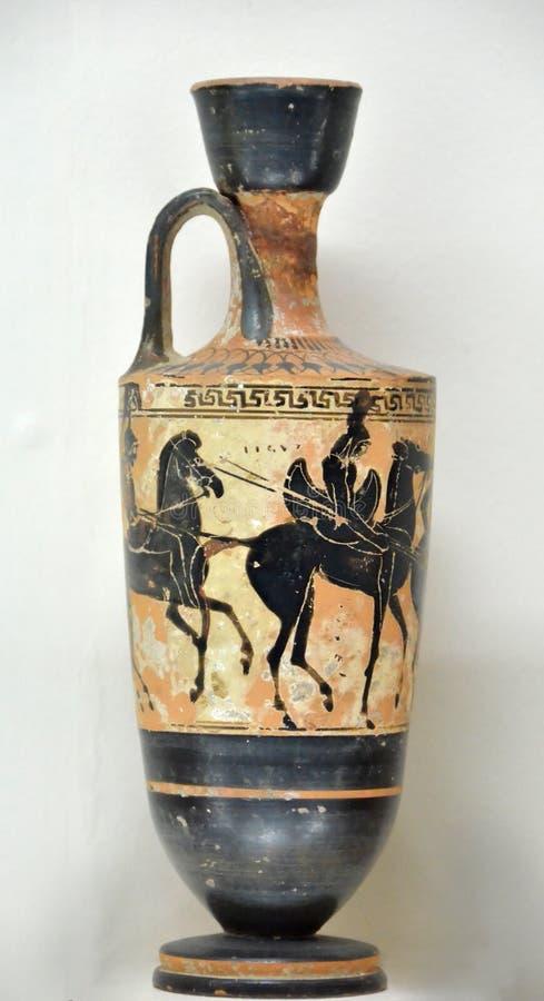 Vase au grec ancien image stock image du conception for Vaso greco antico