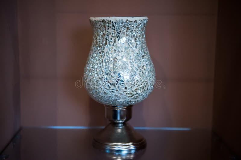 download vase of broken mirror pieces on metal standing stock image image of metallized