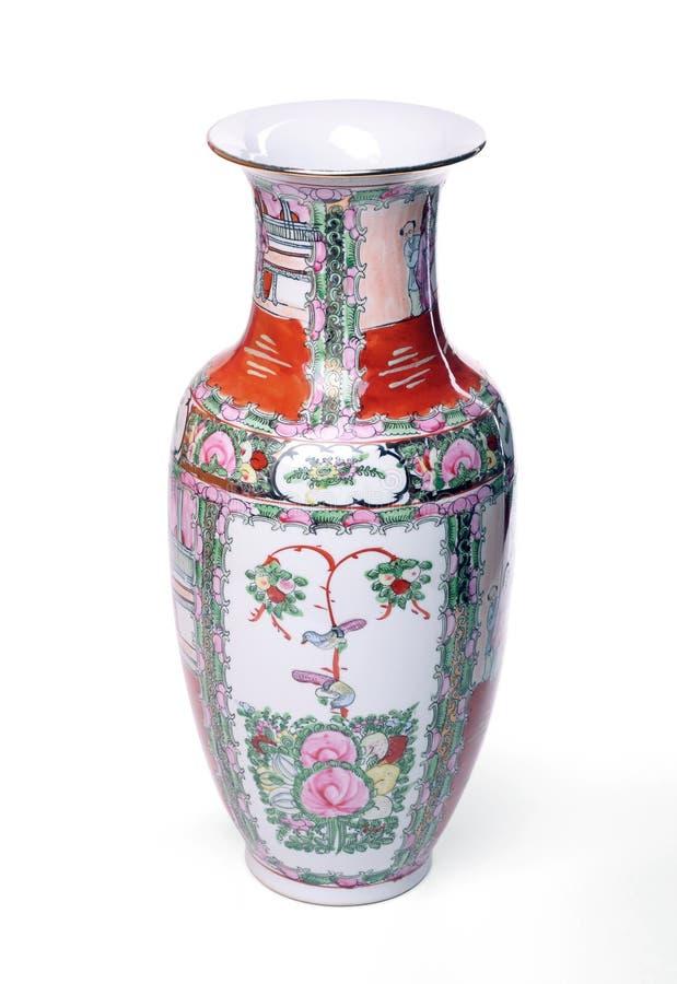 Vase chinois photo stock