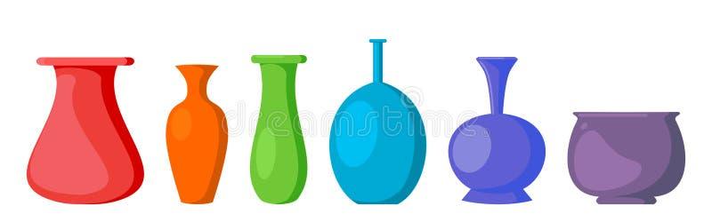 Vase Collection Illustration Vector vector illustration