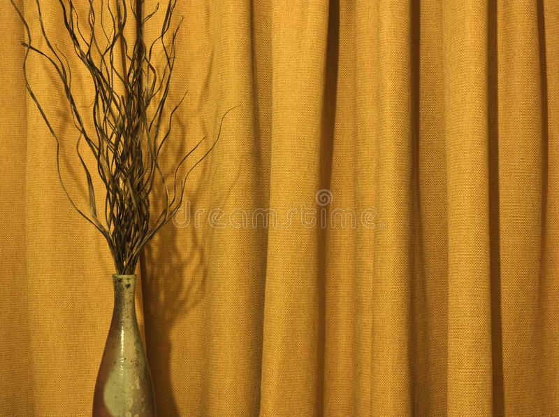 Download Vase and curtain stock photo. Image of pottery, curtain - 16550042