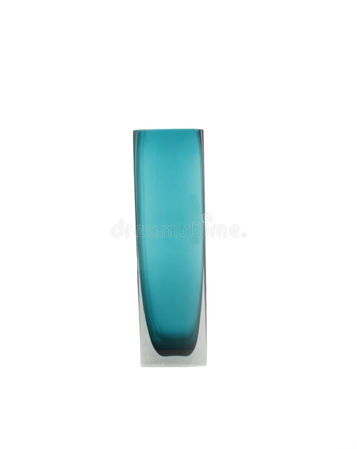 Vase de flottement bleu d'isolement images stock