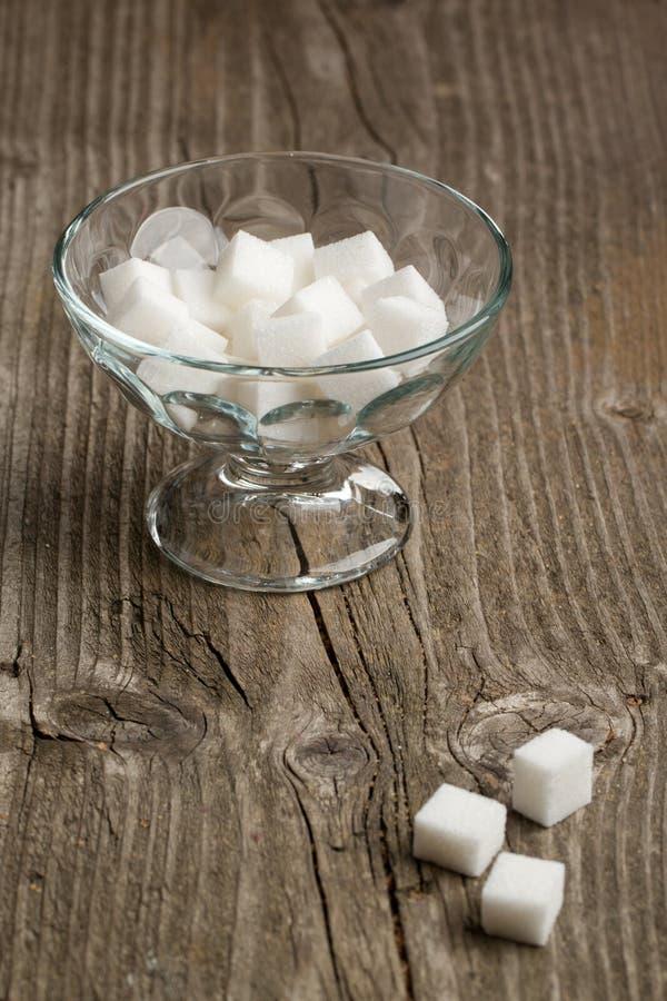 Vase de sucre blanc photos stock