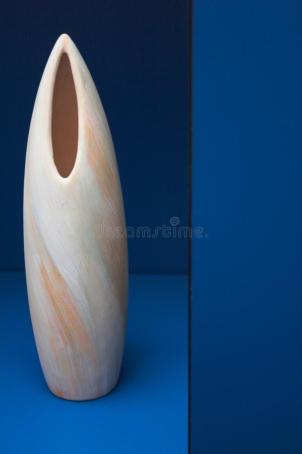 Vase en céramique image libre de droits