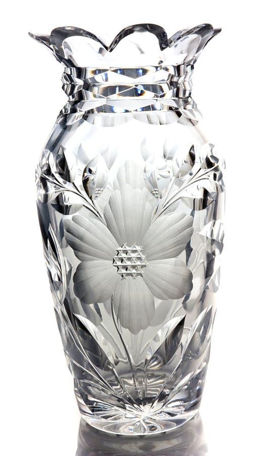 Vase en verre photo stock