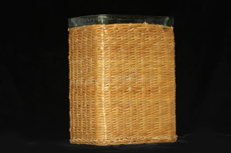 vase en verre Noix-enduit photographie stock