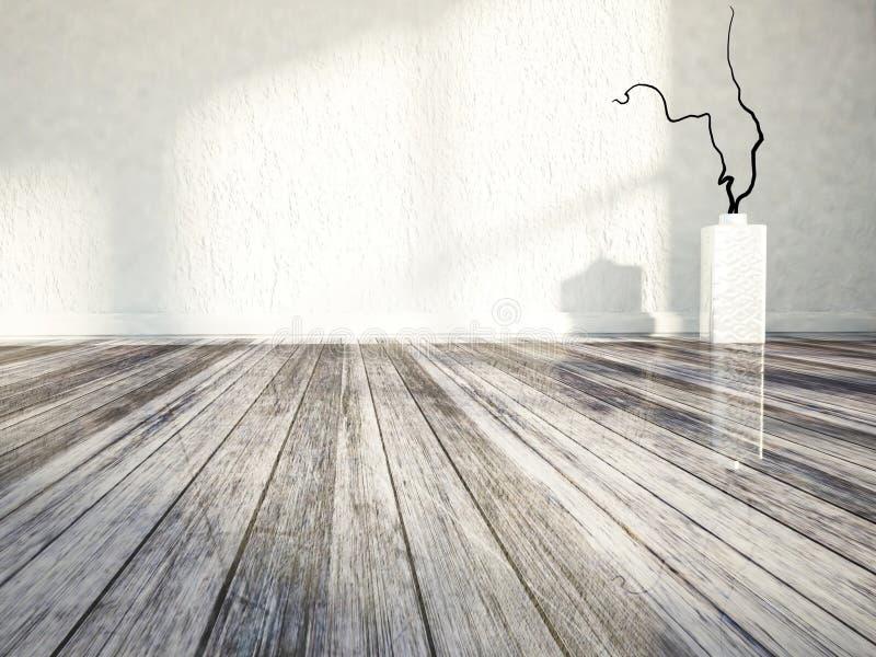 Download The vase on the floor stock illustration. Image of modern - 41953585