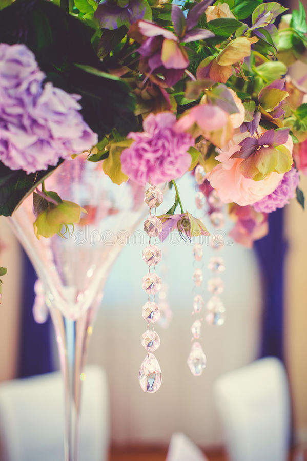 Vase, flowers, gently royalty free stock photo