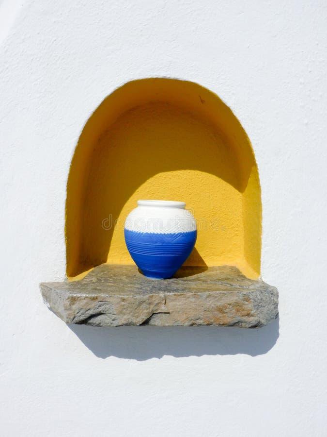 Download Vase grec traditionnel photo stock. Image du greece, été - 56488170