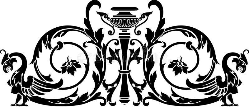 Vase And Harpy Royalty Free Stock Photo