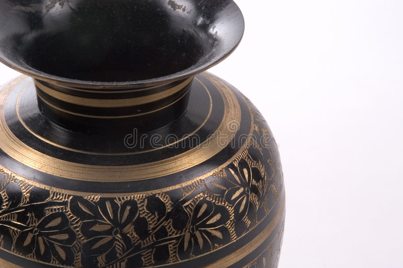 Download Vase indien image stock. Image du accessoire, vase, conception - 65465