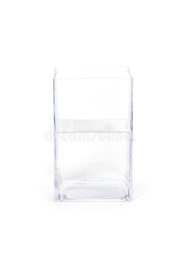 Vase isolated on white stock photography