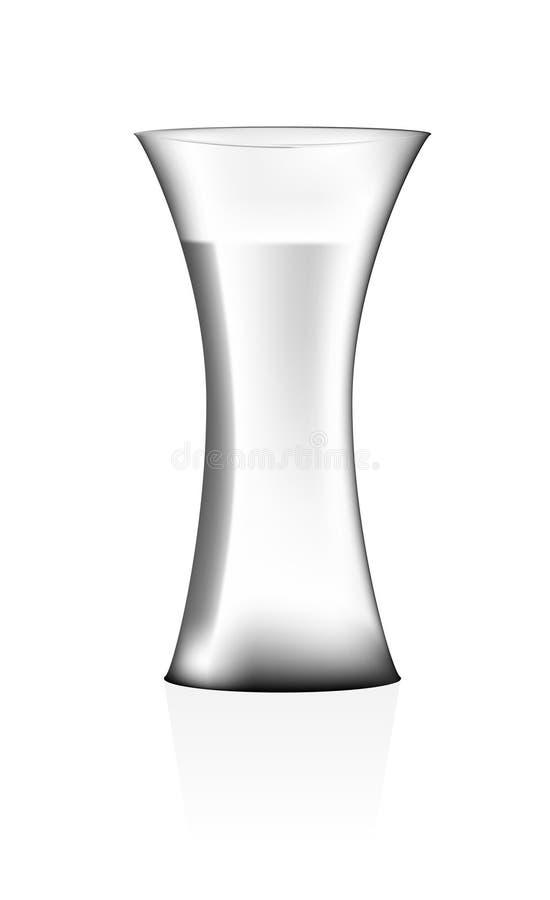 Vase mit Wasser stockfotografie