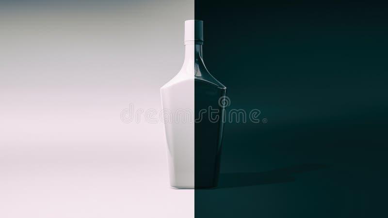 vase moderne 3d rendu illustration de vecteur
