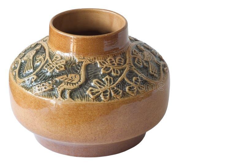 Vase With Peacock Free Stock Photo