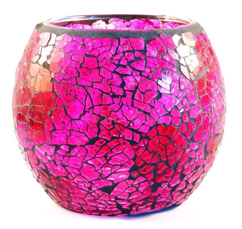 Vase rose photographie stock
