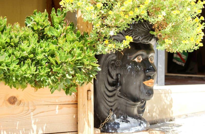 Vase sicilien à vintage photographie stock