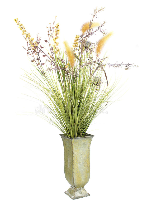 Free Vase With Decor Flowers. Stock Photography - 17422222